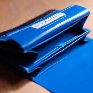 Geldbeutel, Portemonnaie, LKW-Plane, krambeutel, viele Fächer, Spezial