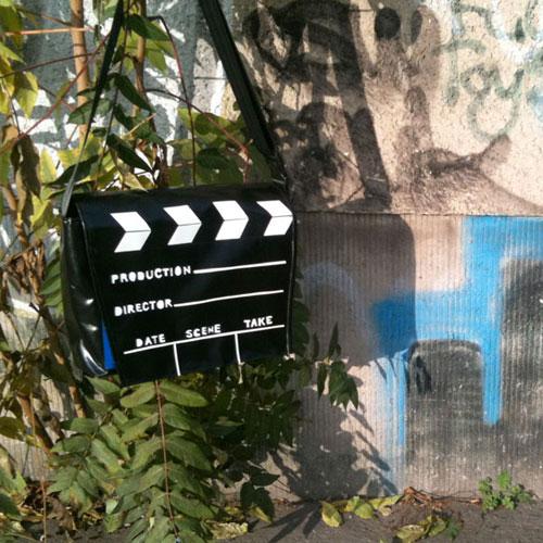 Umhängetasche Filmklappe