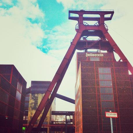 krambeutel unterwegs auf Zollverein / krambeutel Deine Wunschtasche / www.krambeutel.de