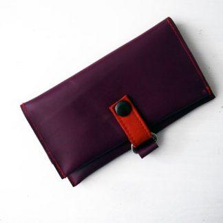 Geldbeutel aus Leder für die Reise / www.krambeutel.de / krambeutel Deine Wunschtasche