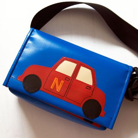 Kindergartentasche mit Auto / krambeutel Deine Wunschtasche