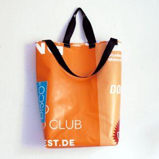 Altpapiersack aus Bannern / krambeutel Deine Wunschtasche / www.krambeutel.de / Stefanie Ramb