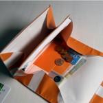 krambeutel Geldbeutel aus Studentenwerk Banner / LKW-Plane / krambeutel Deine Wunschtasche www.krambeutel.de / München Stefanie Ramb