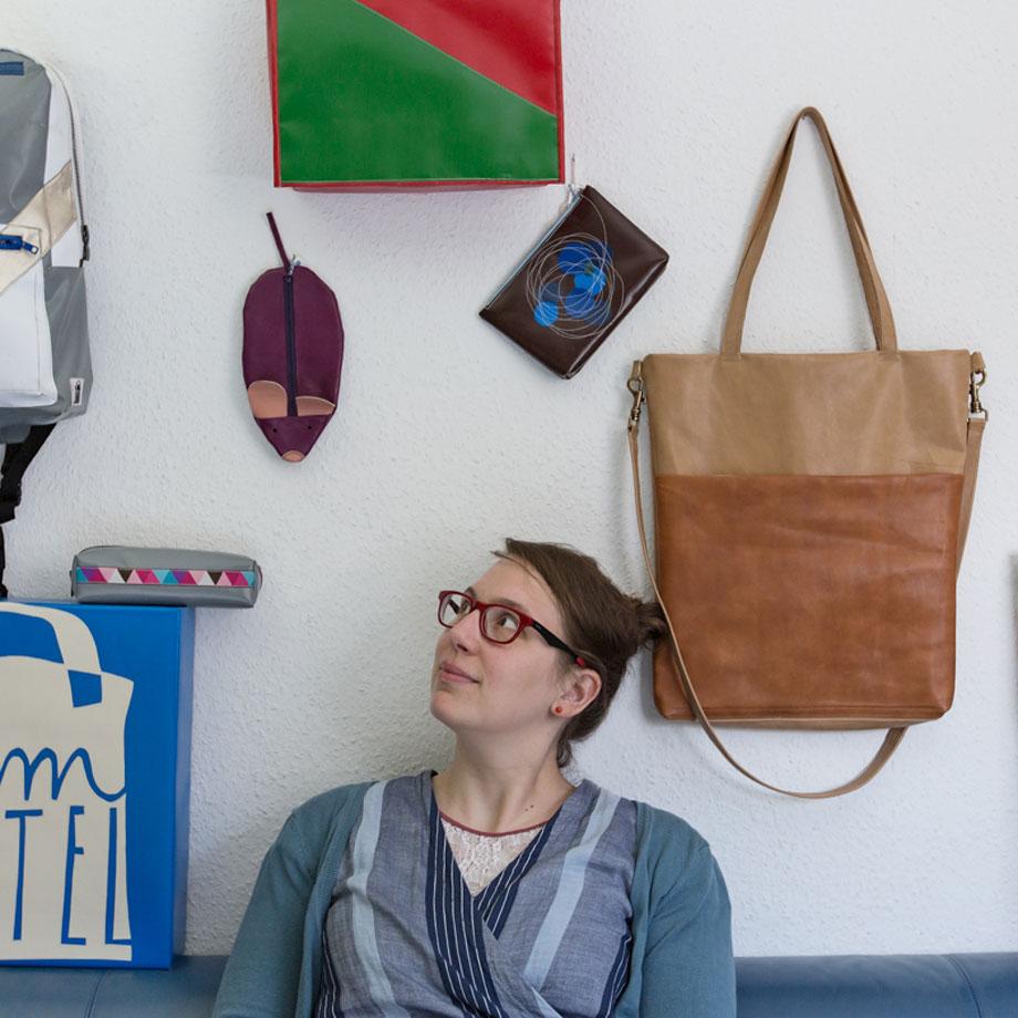 Stefanie Ramb fotografiert von Simone Naumann / krambeutel Deine Wunschtasche / www.krambeutel.de
