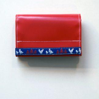 krambeutel Geldbeutel aus LKW-Plane mit großem Kleingeldfach und Reißverschlussfach / Stefanie Ramb www.krambeutel.de Deine Wunschtasche München