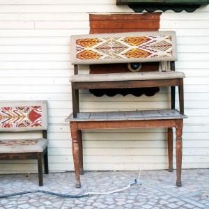 Möbel auf der Straße in Istanbul / www.krambeutel.de / krambeutel Deine Wunschtasche / Stefanie Ramb München