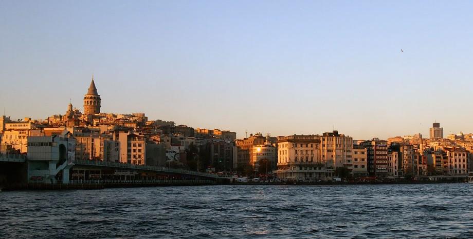 Istanbul Galata-Turm im Sonnenuntergang / www.krambeutel.de / krambeutel Deine Wunschtasche / Stefanie Ramb München