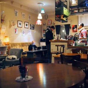 Cafe Holy Coffee zwischen Tophane und Taksim, Istanbul / www.krambeutel.de / krambeutel Deine Wunschtasche / Stefanie Ramb München /