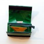 Geldbeutel Größe S aus LKW Plane mit Streifen / krambeutel Deine Wunschtasche / www.krambeutel.de / Stefanie Ramb München