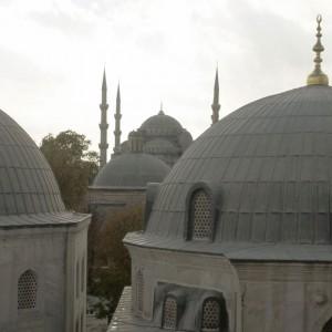 Dächer von Hagia Sophia, Istanbul / www.krambeutel.de / krambeutel Deine Wunschtasche / Stefanie Ramb München /