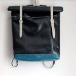 Rucksack aus LKW-Plane und Leder von krambeutel Deine Wunschtasche, maßgeschneiderte Beutel und Taschen aus München. www.krambeutel.de Stefanie Ramb