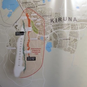 krambeutel unterwegs in Kiruna, Lappland, Schweden. Über den Umzug der Stadt Kiruna und meinen Besuch dort. krambeutel Deine Wunschtasche Stefanie Ramb München