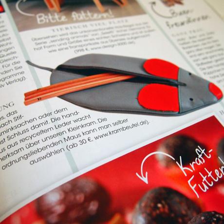 krambeutel in der Zeitschrift Herzstück Januar/Februar 2015