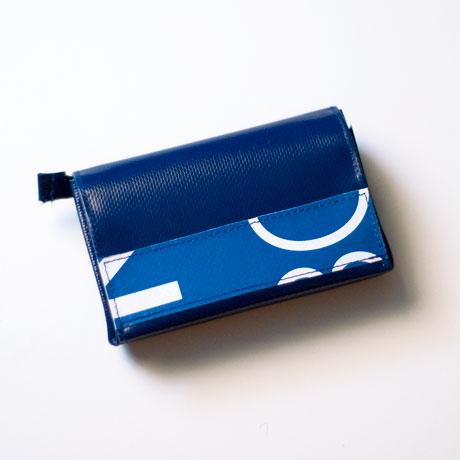 Geldbeutel aus Plane-Resten und einem Ausstellungsbanner, Größe S. Handgemacht in München von Stefanie Ramb krambeutel Deine Wunschtasche www.krambeutel.de