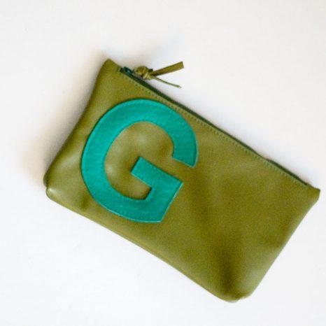 Reißverschluss-Etui aus Leder krambeutel Deine Wunschtasche www.krambeutel.de maßgeschneiderte Beutel aus Resten und Recycling-Materialien, genäht von Stefanie Ramb, München
