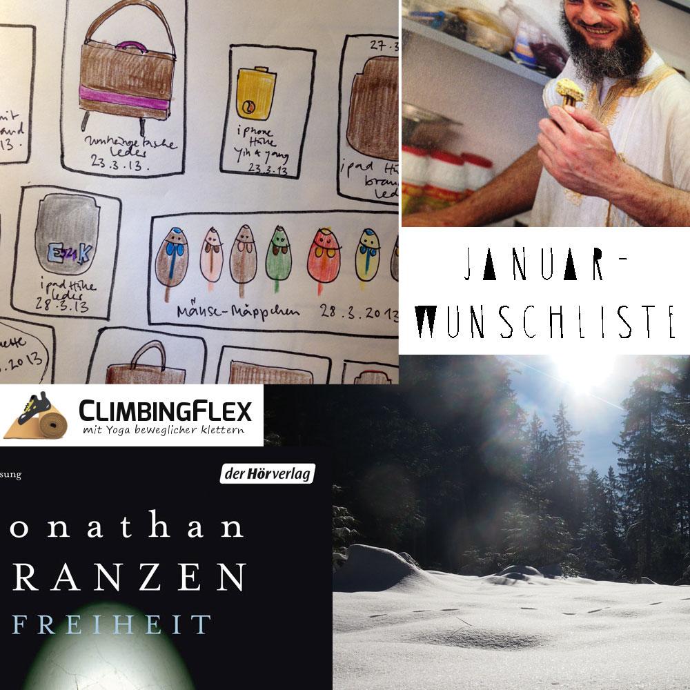 Was ich mir vom Januar wünsche - die monatliche Wunschliste von Stefanie Ramb von krambeutel - Deine Wunschtasche