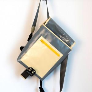 Rucksack aus LKW-Plane, handgenäht in München von krambeutel Deine Wunschtasche / Stefanie Ramb / www.krambeutel.de