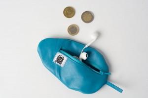 Mini-Maus Etui aus Echtleder von krambeutel Deine Wunschtasche handgemacht von Stefanie Ramb in München www.krambeutel.de