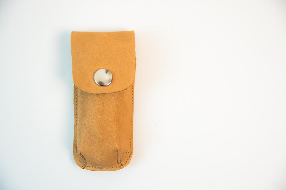 Etui aus Leder von krambeutel deine Wunschtasche www.krambeutel.de Stefanie Ramb München