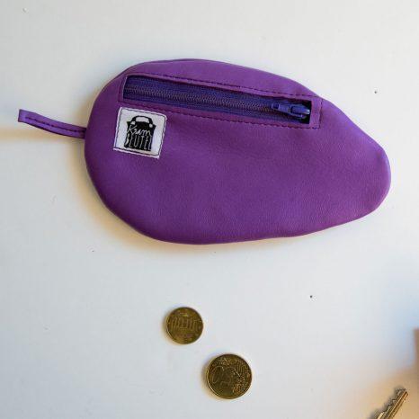 Minimaus Etui aus Echtleder genäht von Stefanie Ramb krambeutel deine Wunschtasche in München
