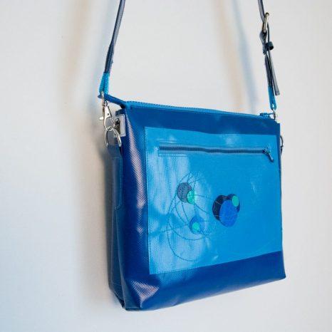 krambeutel Deine Wunschtasche Handtasche Umhängetasche aus LKW-Plane, genäht von Stefanie Ramb München